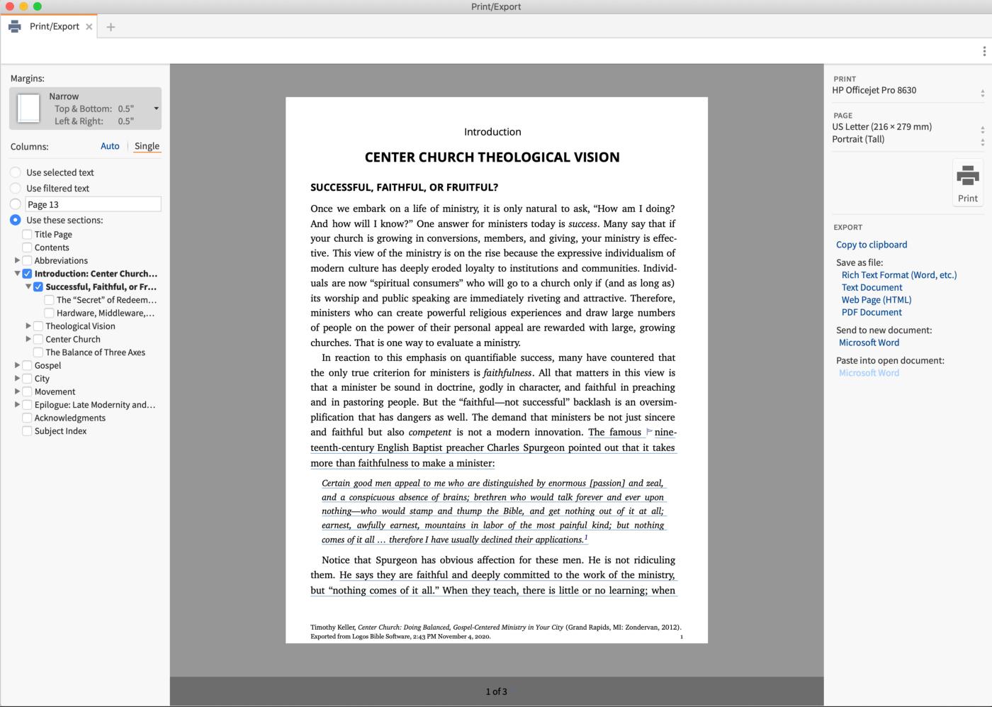 logos bible software reading plan image